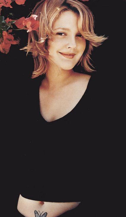 Drew Barrymore ...